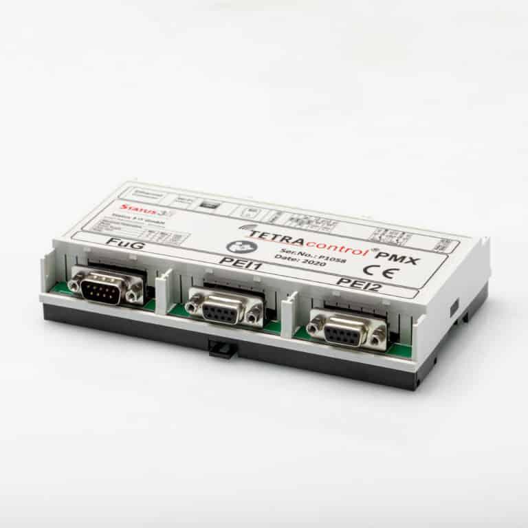 TETRAcontrol PMX - Der PEI Multiplexer mit Mehrwert