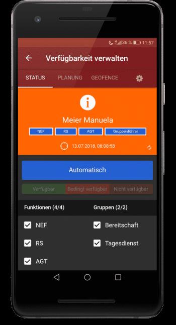 Rückmeldung und Verfügbarkeit - BOS Alarmkonzepte
